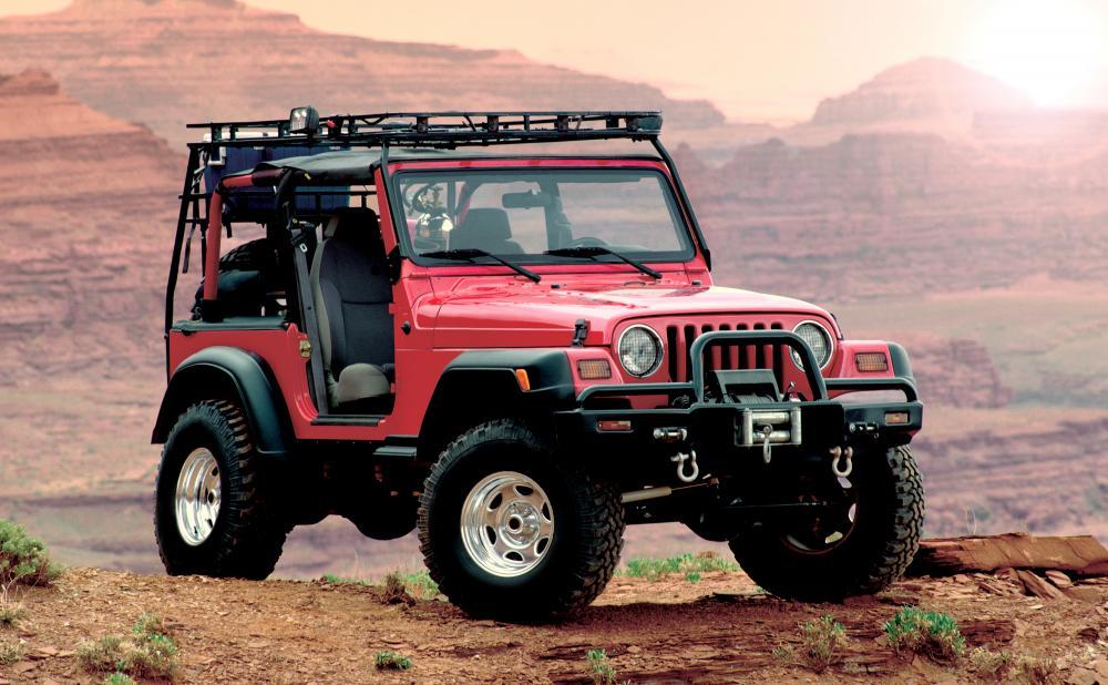 Geländewagen+Jeep+Wüste