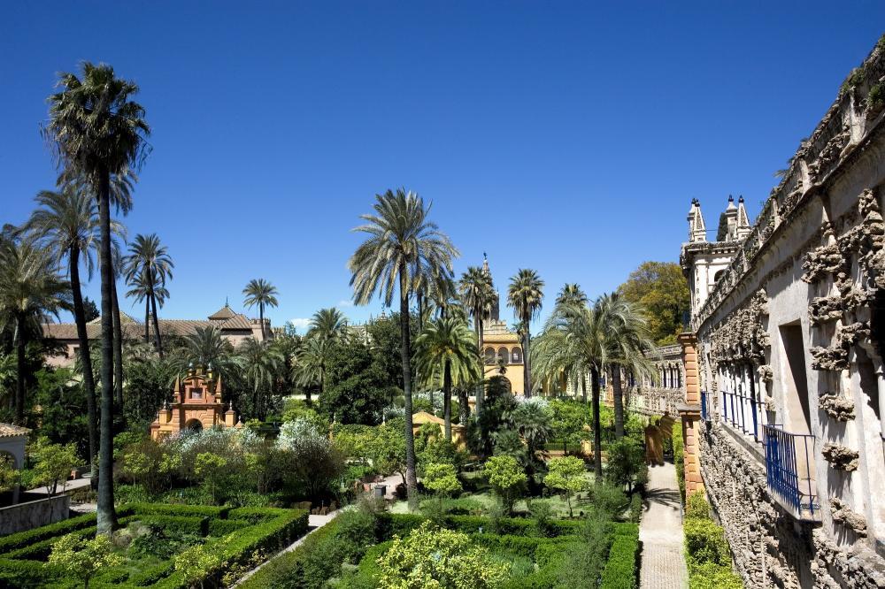 Spanien: Sevilla - Gärten des Alcazar