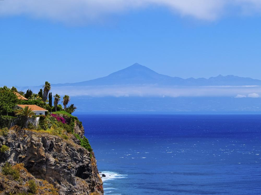 Inselguide Kanaren: La Gomera - Klippe