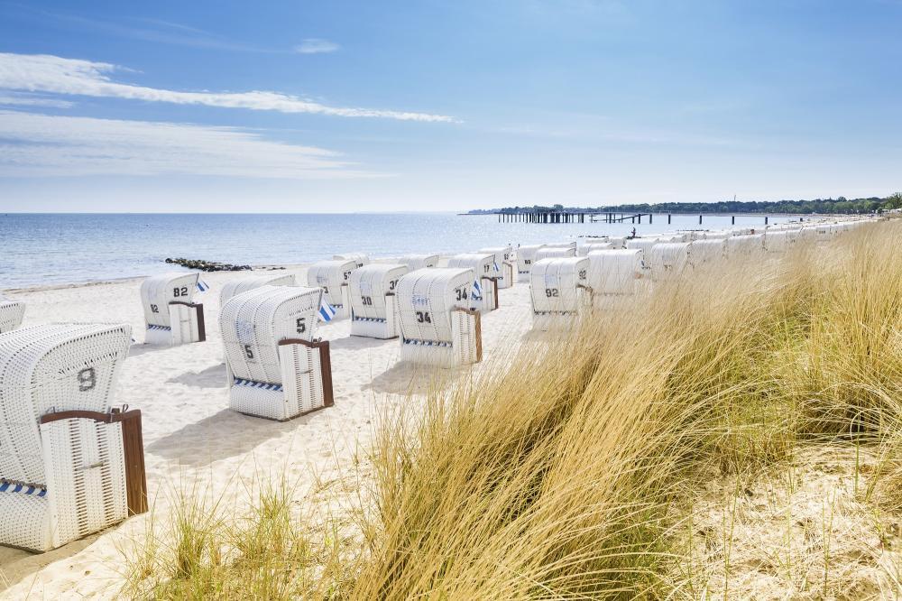 Deutschland: Ostsee - Strand - Strankörbe