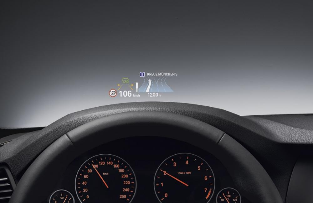 BMW - Head-up-display