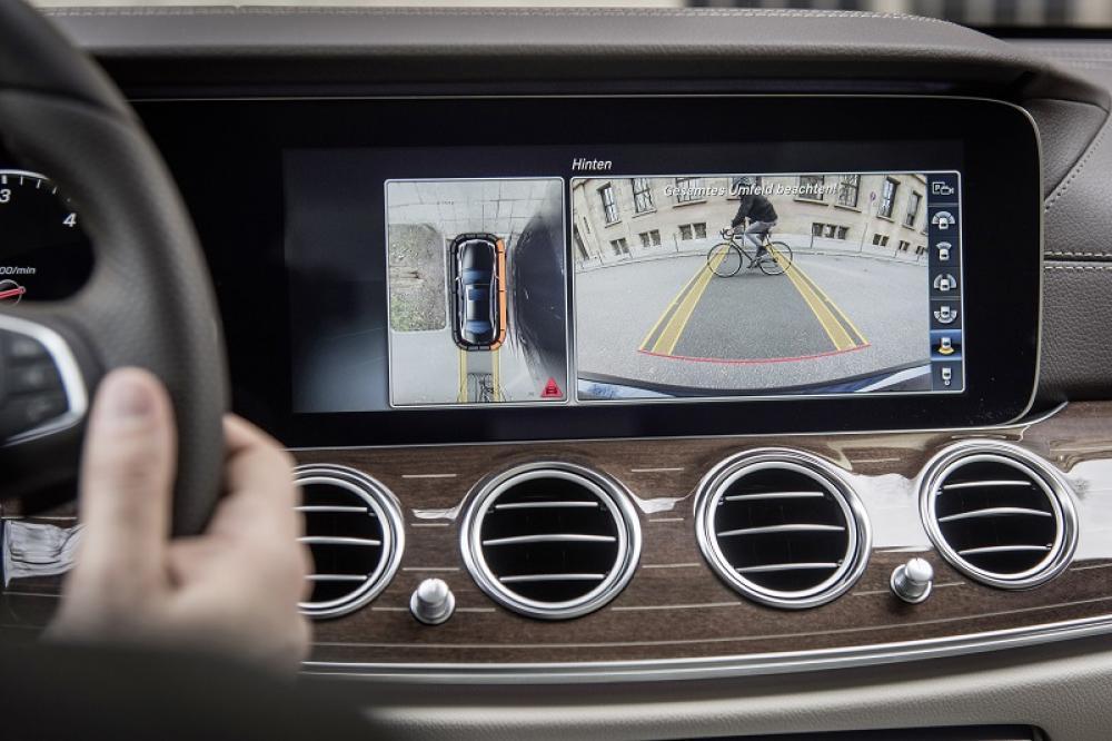 Parkkamera - Mercedes C-Klasse