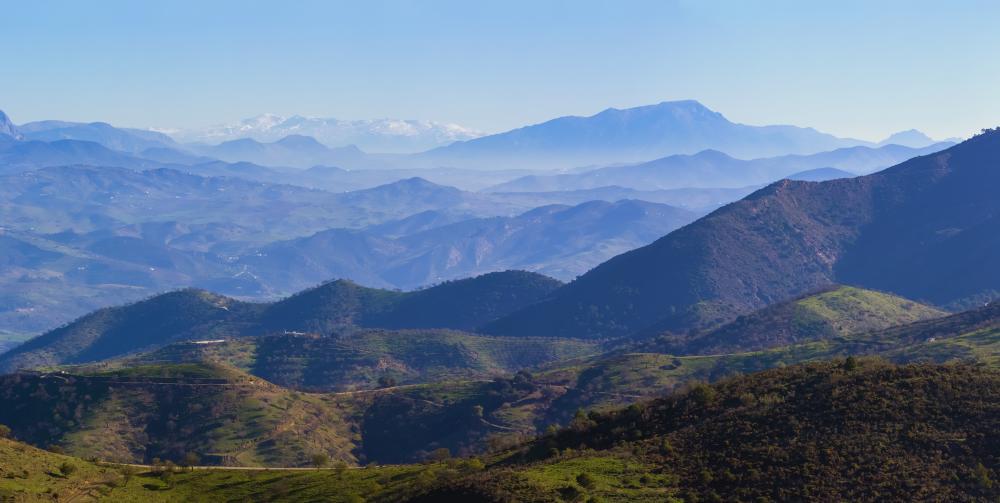 Montes de Malaga - Andalusien
