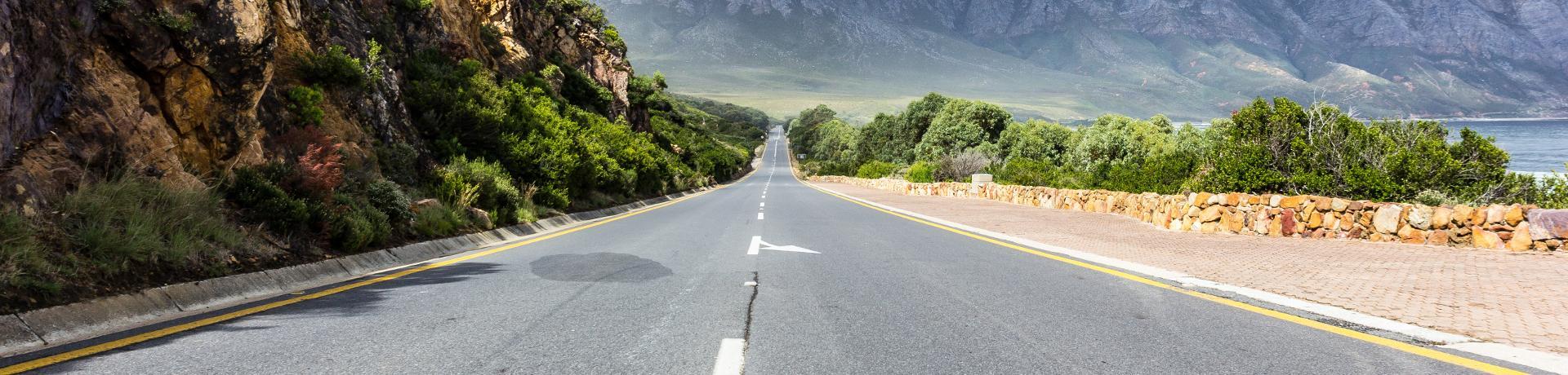 Südafrika: Einsame Straße - Emotion