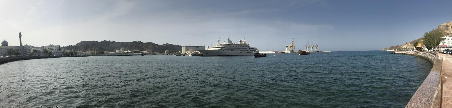 Oman: Muscat - Hafen - Emotion