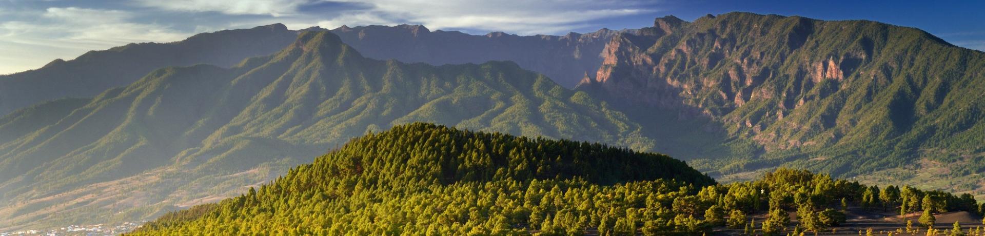 La Palma Berge Natur Emotion