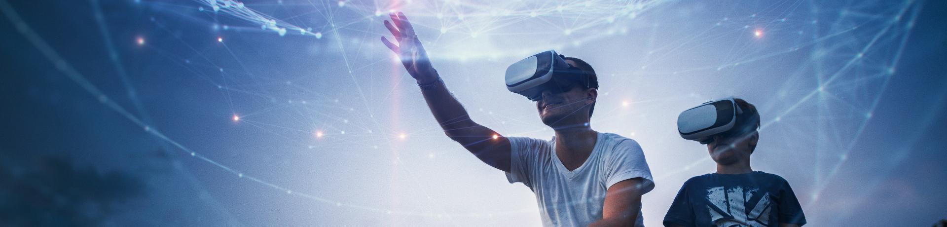 Reisen der Zukunft: Vater - Sohn - VR