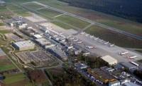 Flughafen Nürnberg Luftaufnahme