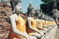 Buddha Statuen in Thailand