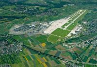 Flughafen Stuttgart aus der Luft