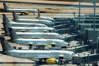Vueling Airlines am Flughafen