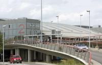 Flughafen Hamburg Auffahrt