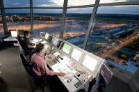 Tower am Münchener Flughafen