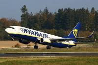 Ryanair Flugzeug Start