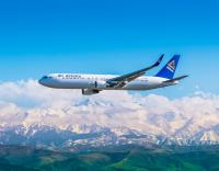 Air Astana Boeing 767 Flug