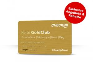 CHECK24 Reise GoldClub