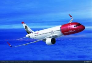 Norwegian Airlines Airbus