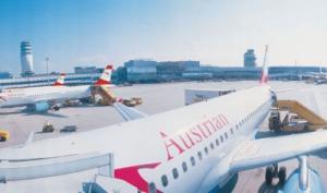 Austrian Airlines am Flughafen