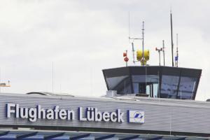 Tower am Flughafen Lübeck