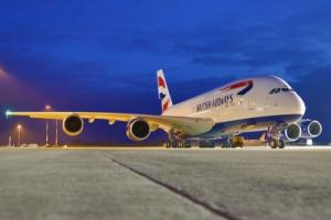 Airbus Maschine von British Airways