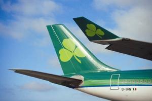 Flugzeug von Aer Lingus