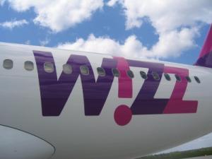 Schriftzug von Wizz Air