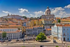 Portugals Hauptstadt Lissabon