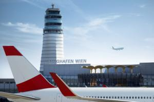 Tower am Flughafen Wien