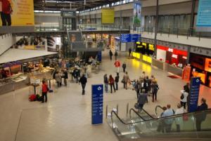 Terminal B des Flughafens Leipzig-Halle