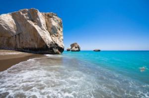 Felsen der Aphrodite auf Zypern