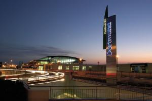 Flughafen Dortmund Außenansicht