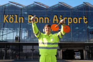Lotse am Flughafen Köln-Bonn