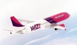 Flugzeug von Wizz Air