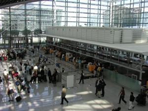 Check-in Flughafen München
