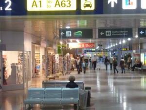 Flughafen Nürnberg Abflughalle