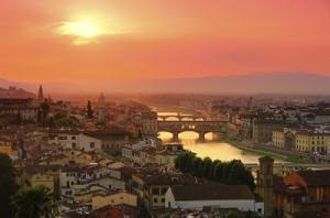 Stadtpanorama von Florenz