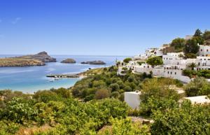 Griechenland Rhodos Panos