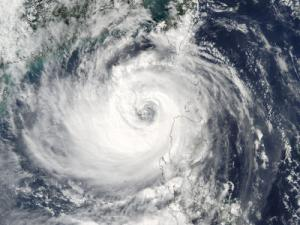 Taifun Haima im Oktober 2016