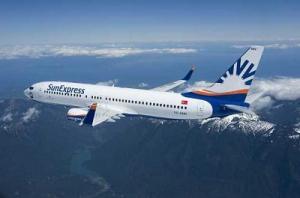 Sun Express Flugzeug
