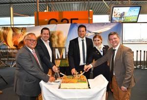 Condor Erstflug von München nach Namibia