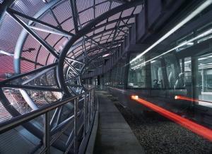 Flughafen Düsseldorf Sky Train