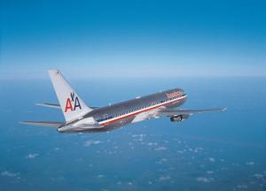 Boeing 767 American Airlines im Flug