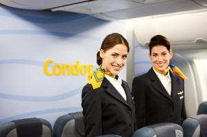 Flugbegleiterinnen der Condor