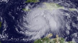 Hurrikan Matthew Oktober 2016 vor Haiti