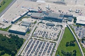 Luftaufnahme Flughafen Berlin-Schönefeld