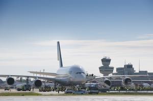 Flughafen Berlin-Tegel A380