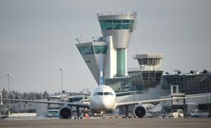 Helsinki Airport winter