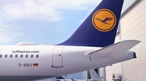 Lufthansa Airbus A321 Internet Antenne