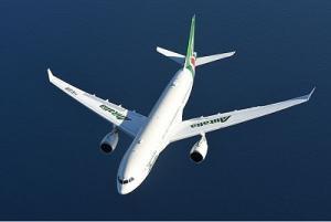 Alitalia Airbus A330 im Flug