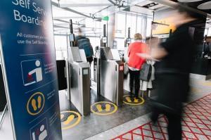 British Airways Self-Service-Boarding
